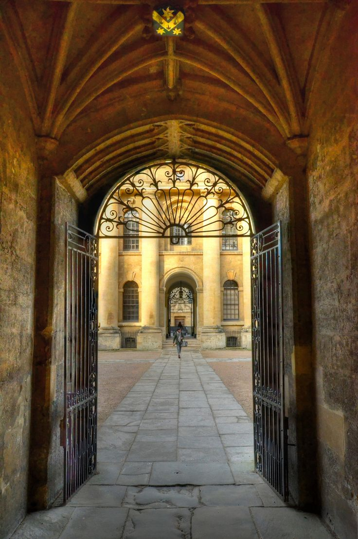 Entrance to the Old Bodleian Library, Oxford | Flickr - Photo Sharing!