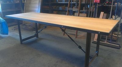 Designer Vintage Industrial Custom-Made Tables... By Karrottopdesigns