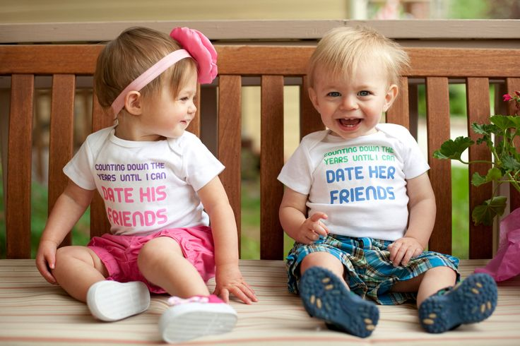 Funny Boy And Girl Baby Counting Down T...