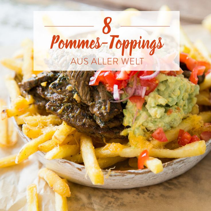 Pommes Deluxe lässt sich zu der köstlichen Kombination aus zartem Schweinefleisch, krossen Fritten und hausgemachter Mango-Salsa nur sagen.