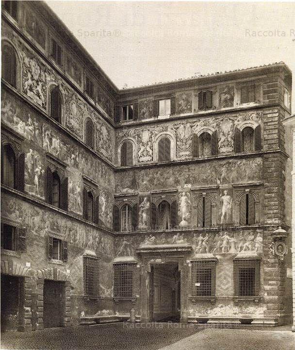 Foto storiche di Roma - Nuova immagine - Palazzo Ricci Aggiunta da Mario ELIA