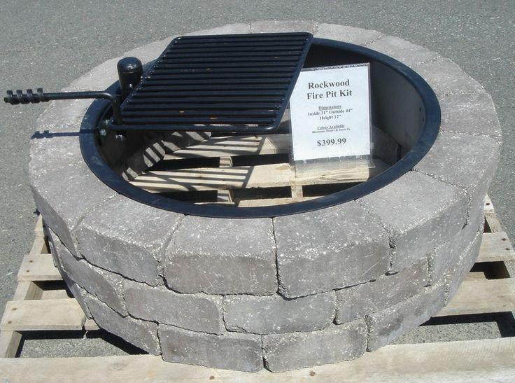 steel fire pit ring insert