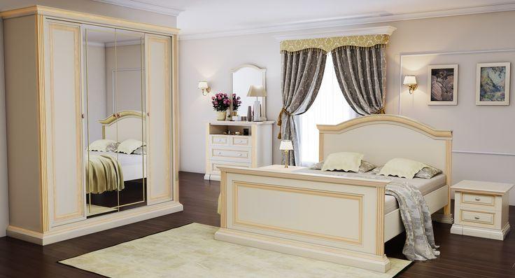Спальня серия классика 1327p на заказ