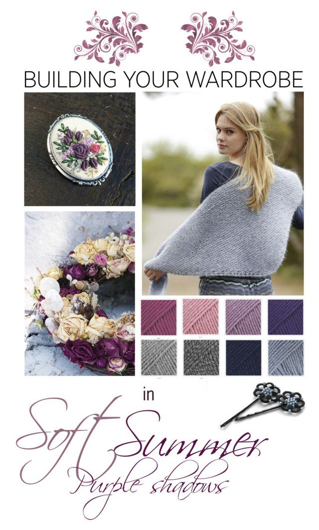 """""""Soft Summer purple"""" by landoflaces on Polyvore featuring moda"""