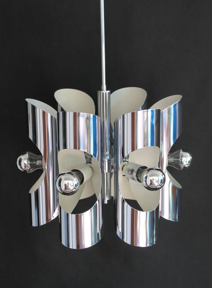 74 besten 70er jahre lampen 70s lamps originale bilder. Black Bedroom Furniture Sets. Home Design Ideas