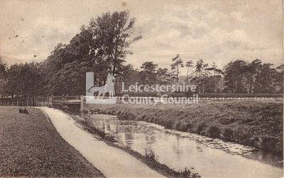 Leicester Road from Waterside, c1905