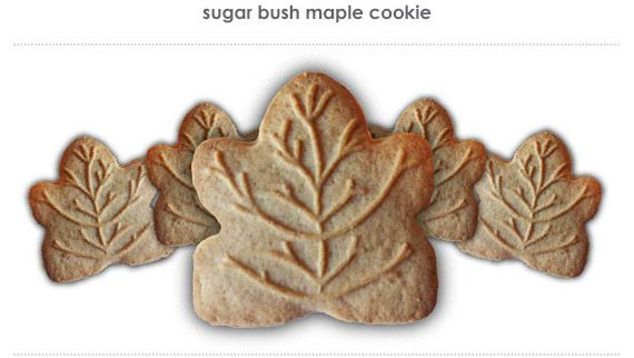 sugar bush maple cookie