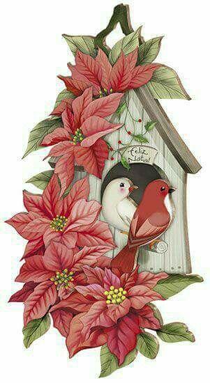 Casinha de pássaros D litoart