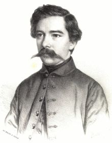 """János Arany-- (archaically English: John Arany; 1817-1882), was a Hungarian journalist, writer, poet, & translator. He is often said to be the """"Shakespeare of ballads"""" – he wrote more than 40 ballads which have been translated into over 50 languages, as well as the Toldi trilogy, to mention his most famous works."""