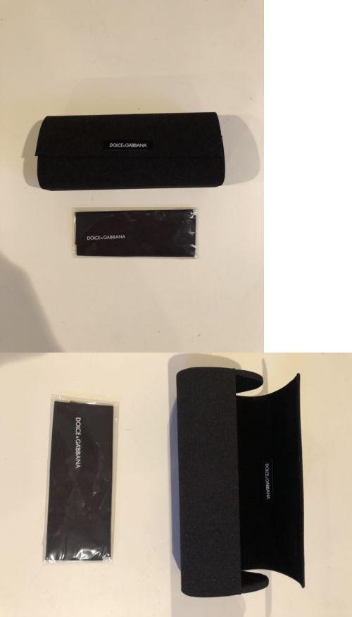 ab3252140ce9 Dolce   Gabbana Sun glasses Eye glasses - Black - Hard Protective Case