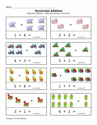 addition worksheet pdf year 1