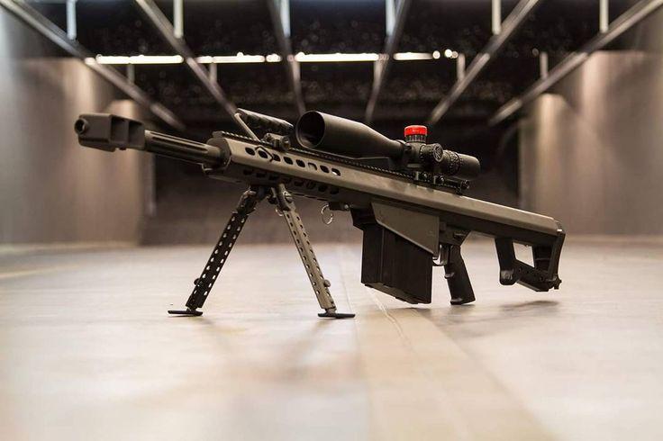 Need something bigger? How about a Barrett 50 BMG to help you out! #bigboom #Barrett #50BMG #AlamoRange #50 #big #pew @barrett @nightforce_optics