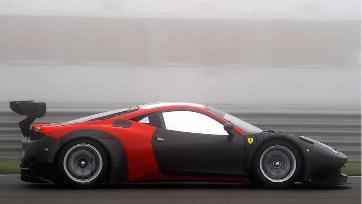 2013 Ferrari 458 GT3 race car
