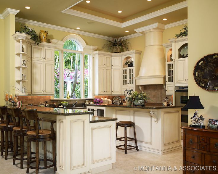 Highly Detailed Country French Kitchen Home Decor