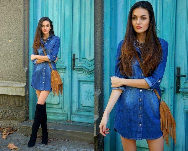 Stylizacja Jeans - Domodi.pl