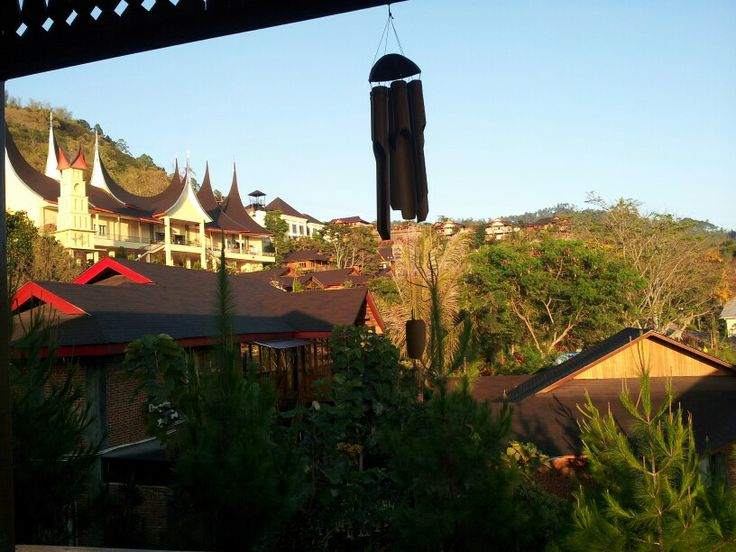 Jambu luwuk resort,batu,malang,east java, indonesia (view from one of cottage in there)