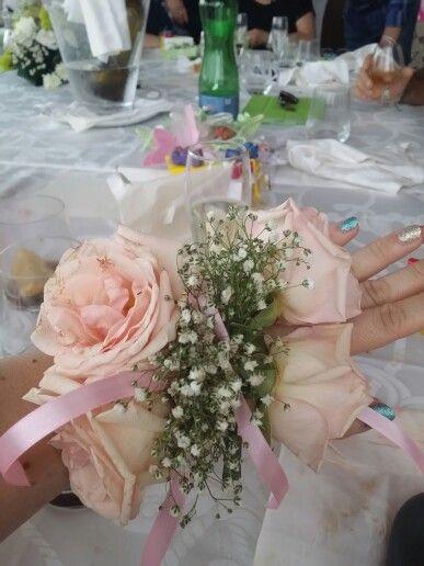 Braccialetto di fiori