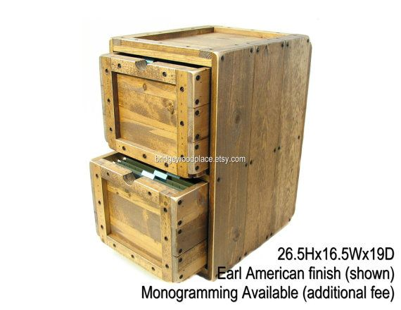 Charming File Cabinet Rustic Solid Wood Office Filing Cabinet 2 Drawer Wooden File  Storage U0026 Organization Wood