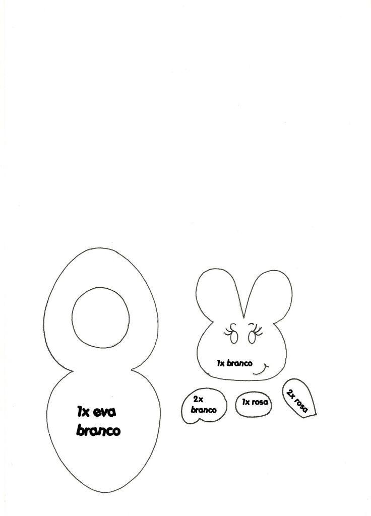 Nossa amiga e parceira do Blog a artista Leskka Braga, preparou um lindo passo a passo pra você: um porta bombons com o tema de Páscoa!Uma pintura super criativa eoriginal. Temos certeza que todos irão gostar! Material necessário: Tecido; Cola branca extra; Eva branco; Eva rosa; Blush; Tinta branca para artesanato; Cola instantânea; Tesoura; Lápis;...