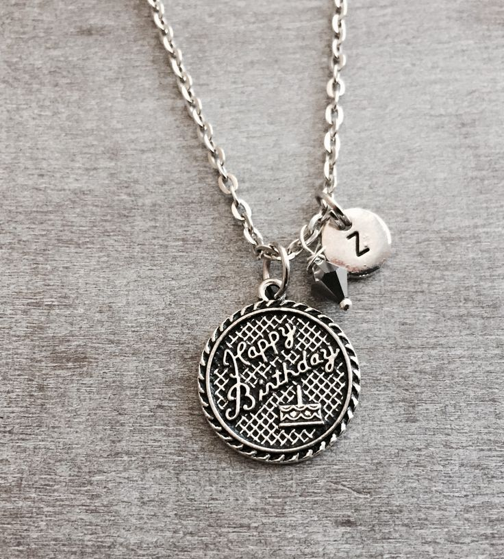 Personalized 18th Birthday Necklace Initial Custom: 130 Best Birthday Gifts And Ideas Images On Pinterest
