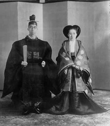 Their Imperial Highnesses Prince and Princess Mikasa of Japan. Married: October 22, 1941.  Prince Mikasa is Emperor Akihito's uncle.  At 97, he is the oldest member of the Japanese Royal Family.  His wife is 90.  Married 72 years!