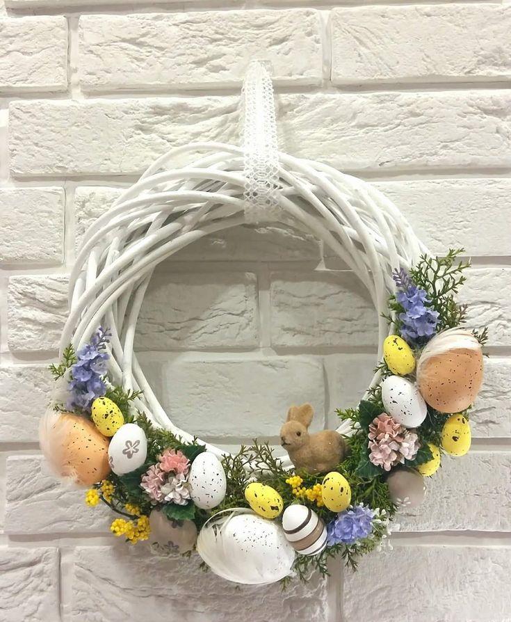 DIY Wianek Wielkanocny – Moje Własne