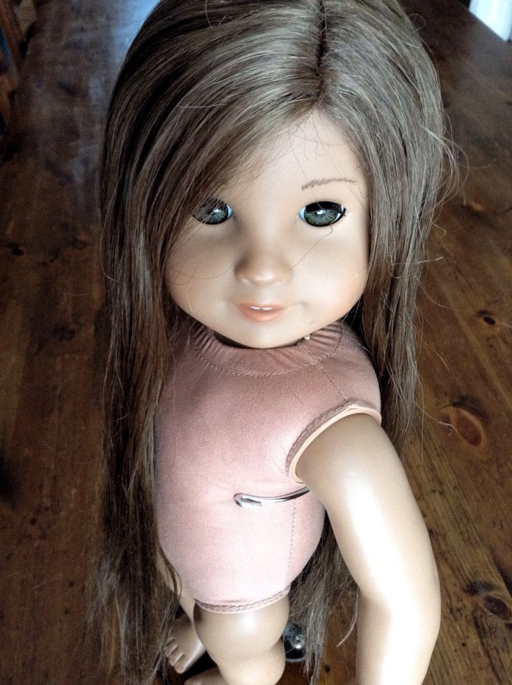 how to fix dry american girl doll hair