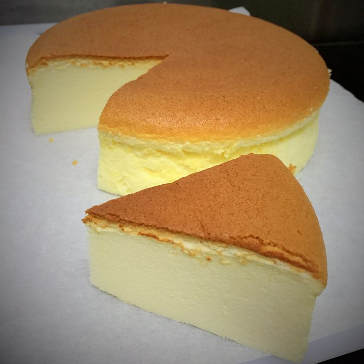 Light Japanese Cotton Cheesecake