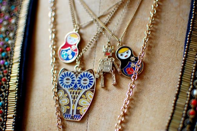 babushka: Babushka Necklace, Matrioska