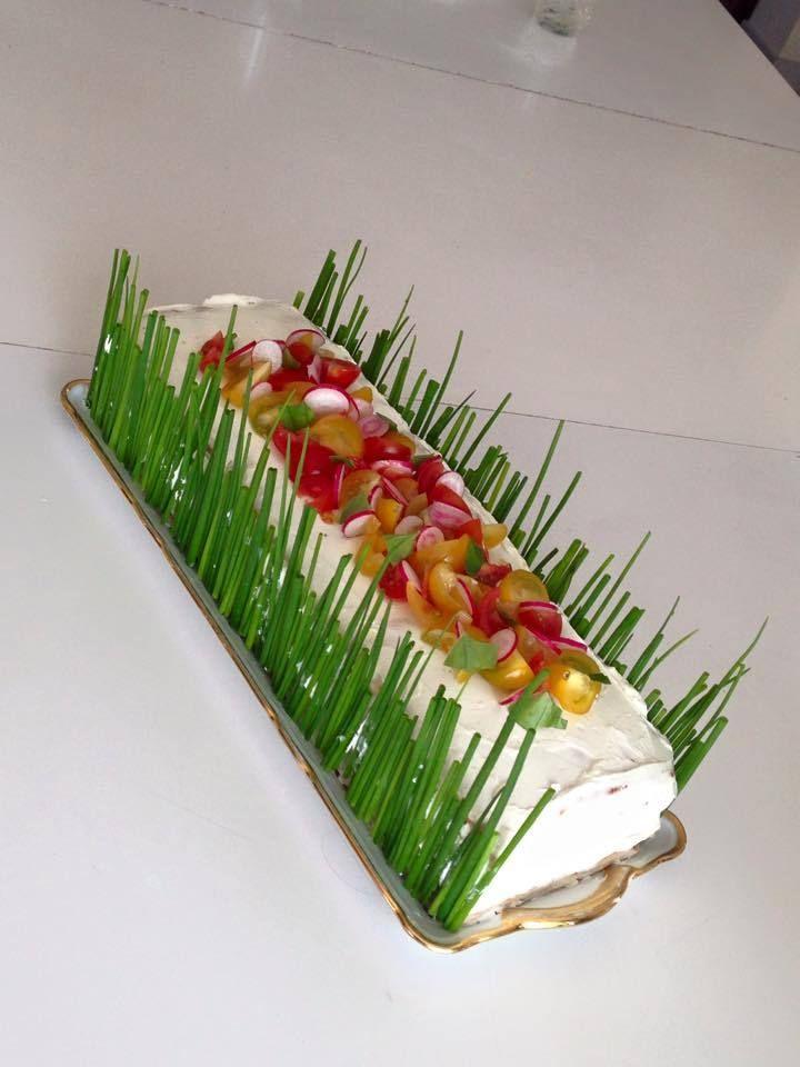 Sandwich cake façon pain surprise