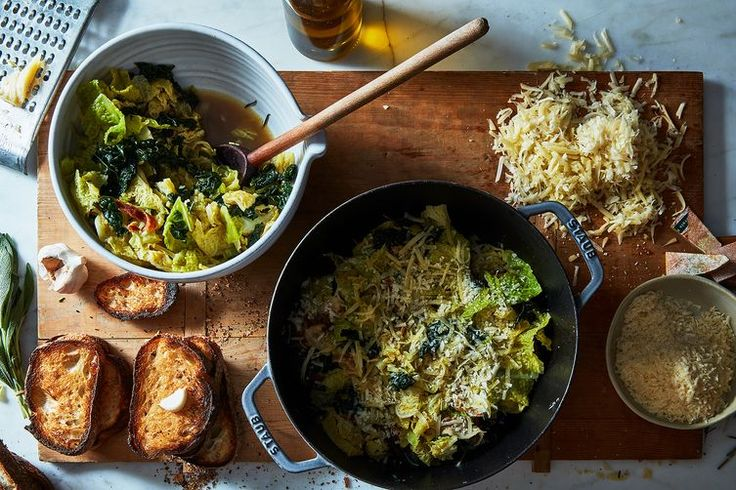 Jamie Oliver's Italian Bread and Cabbage Soup recipe on Food52