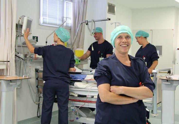 14 maart 2016: Annelies Linssen, verpleegkundige Recovery (locatie Heerlen), staat deze week samen met haar collega's op onze Facebook-coverfoto van de week! #WijZijnZuyderland