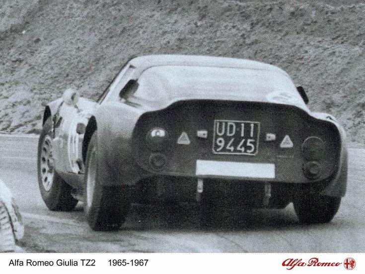 Alfa Romeo Giulia TZ2 (Zagato), 1964