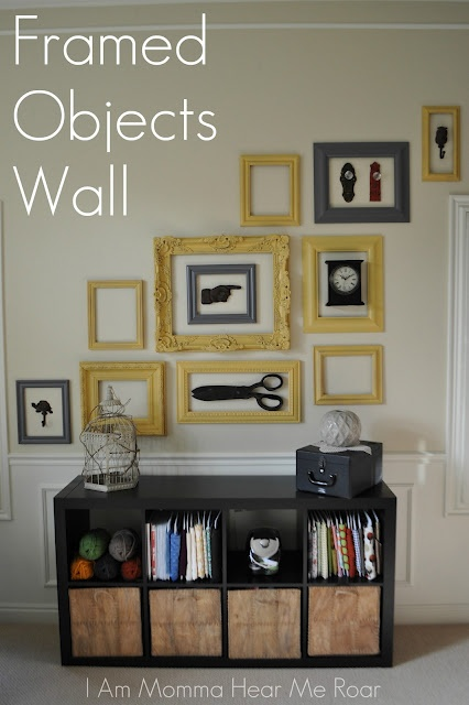 framed objects wall