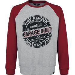 King Kerosin Garage Built Sweatshirt King Kerosinking Kerosin Mode