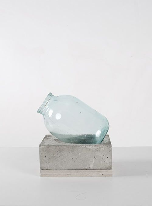 Concrete and Glass Vases by Sergey Makhno Siegbert Schaefer DIY und Kunsthandwerk