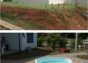 venta de casas prefabricadas con piscina o jacuzzi, CONSTRUIMOS. PARA SU LOTE