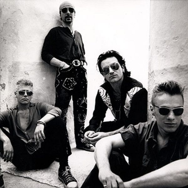 Anton Corbijn U2 Achtung Baby Photo Shoot, Morocco-