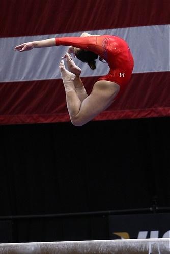 Olympian Alicia Sacramone