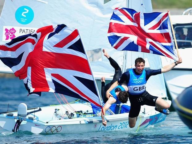 Luke Patience and Stuart Bithell had to settle for silver in the men's 470