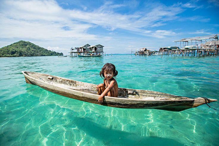 Блог - Морские цыгане: племя на Борнео, которое живет в собственном маленьком раю