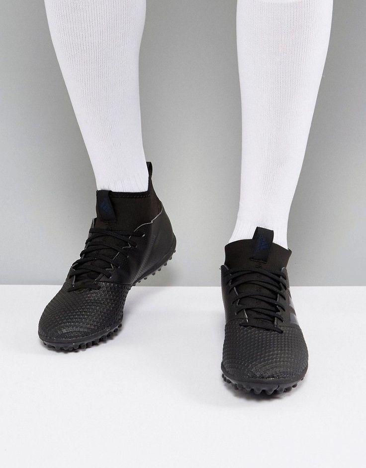 adidas Soccer Ace Tango 17.3 Astro Turf Sneakers In Black S77084 - Bla