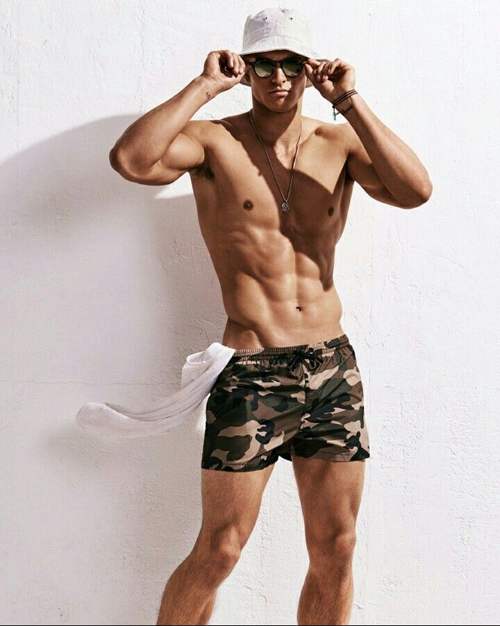 Bathing shorts Camo