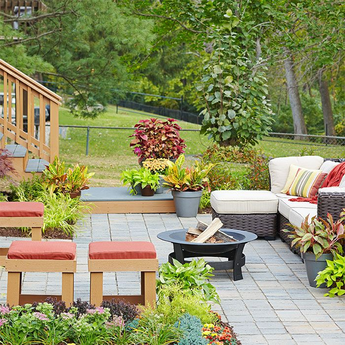 Create The Ultimate Backyard Party Space For You And Your Friends With Plenty Of Seating
