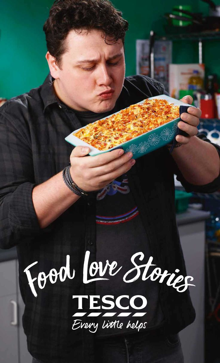 Try 'Stu's' mac 'n' cheese from our Food Love Story. It's his girlfriend's favourite, so, although he's not a natural cook, he's making his bacon version for their six–month anniversary. | Tesco
