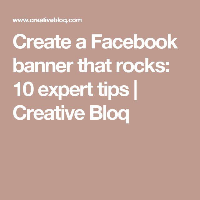 Create a Facebook banner that rocks: 10 expert tips | Creative Bloq