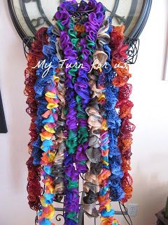 My Turn (for us): Scarves, Scarves and More Scarves! {Tutorial}  Mothers Love Free Information on how to (Make Money Online)  http://ibourl.com/1nss