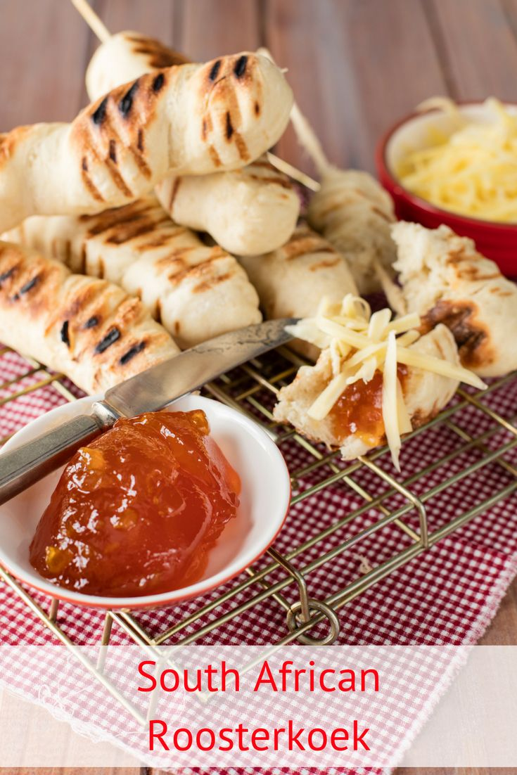 South African Roosterkoek Recipe. We love roosterkoek – the South African bread that is cooked over the braai – and we love serving it with butter, cheese and generous dollops of our favourite flavour of jam.