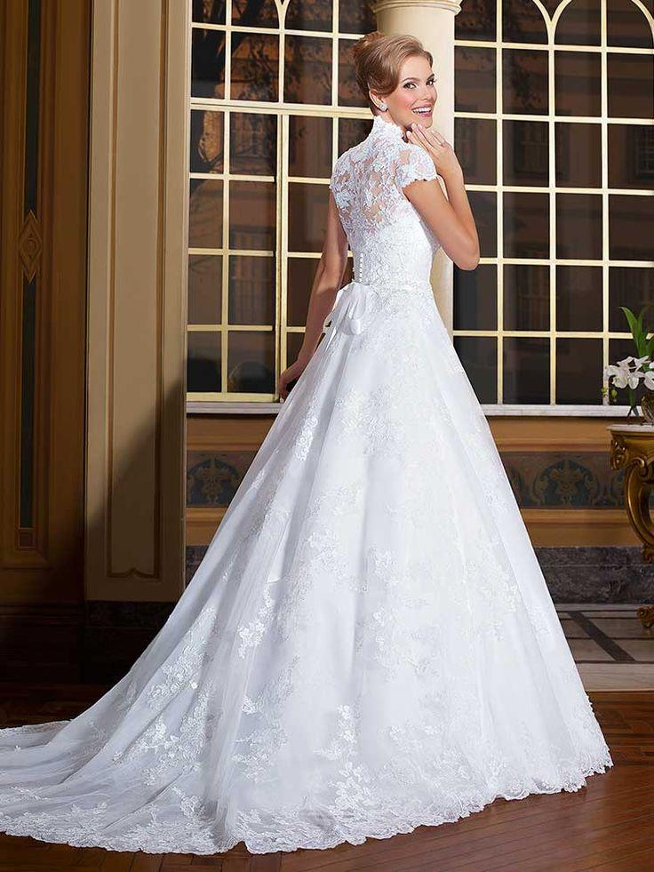 Gardênia 05 - costas #coleçãogardenia #vestidosdenoiva #noiva #weddingdress #bride #bridal #casamento #modanoiva
