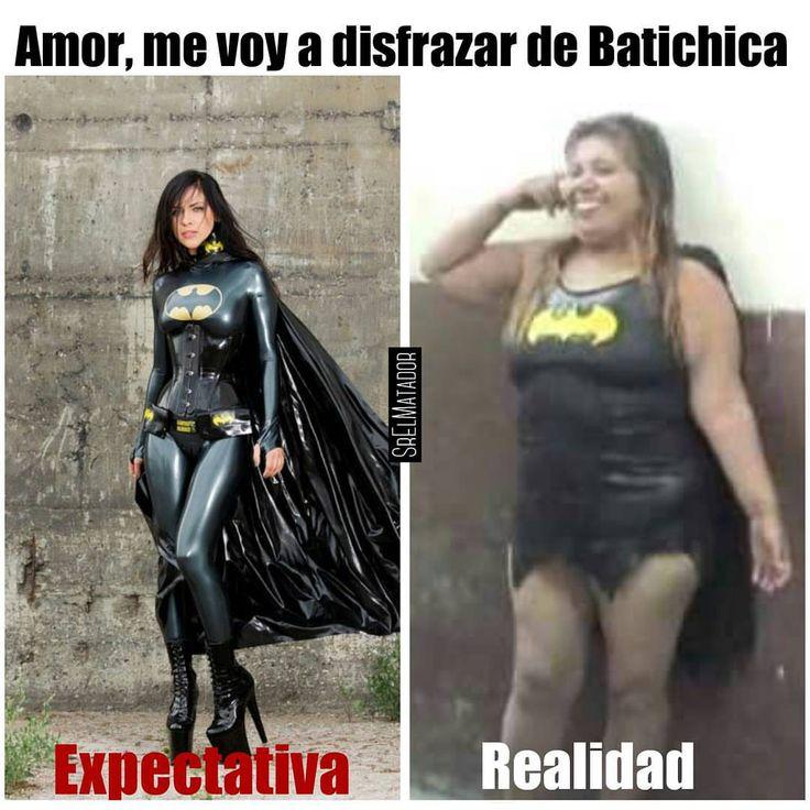 Sería bueno disfrazarse como estreno de año nuevo. . #MiércolesGabán #añonuevo #navidad #Batman #batichica #batgirl #fail #disfraz #expectativa #custome #ElSalvador #SrElMatador #batmanvsuperman #dawnofjustice